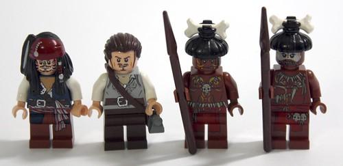 LEGO Pirates Of The Caribbean Mini Figure Cannibal
