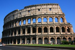 The Colosseum (photographerglen) Tags: city travel summer vacation italy rome roma history canon italian ancient europe italia roman euro historic colosseum wonderoftheworld travelphotography hoilday thecolosseum worldicon photographerglen