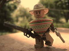 Don't Tango... (Da-Puma) Tags: wild west cowboy lego prototype picnik edit rango brickarms