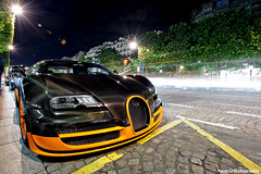 Veyron SS (Katrox - www.kevingoudin.com) Tags: longexposure orange paris france car night photoshop photography photo nikon automobile europe long exposure photographie nightshot angle capital wide dream wideangle 164 gran spotted gt carbon bugatti supercar spotting afs w16 veyron lightroom supersport vehicule 1735mm dreamcar turimo champselyse f28d nikkor173528 173528 hypercar automotiv nikkor1735 d700 400kmh afs1735mmf28d afs1735 nikond700 bugattiveyronsupersport kevingoudin