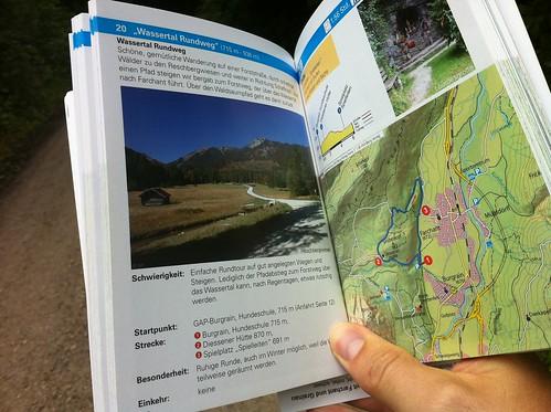 """Wanderung """"Wassertal Rundweg"""" - der Wanderführer Garmisch-Partenkirchen"""