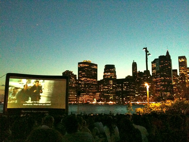 Openair Cinema at Brooklyn Bridge Park