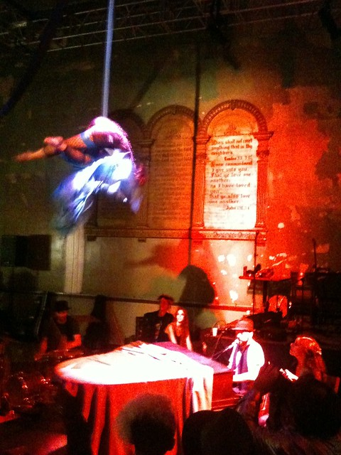 Aerial show @ The lost Circus
