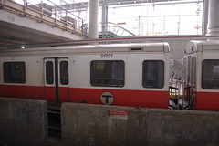 Redline (Hogarth Ferguson) Tags: boston train underground subway metro united transit mbta states