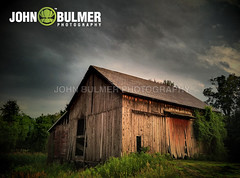 Barn HDR (john bulmer) Tags: sunset newyork barn hdr mechanicville firstlightlastlight johnbulmer