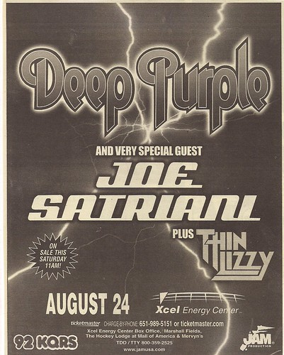08-24-04 Deep Purple/Joe Satriani/Thin Lizzy @ St. Paul, MN