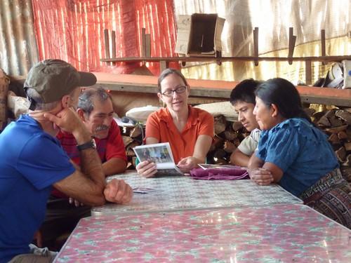 With Jose Nehemias' family