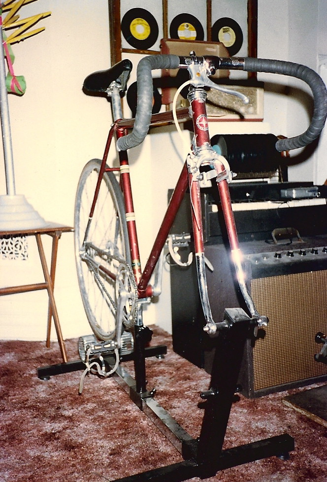 1975 Schwinn Paramount track bike