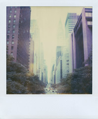 (jeffreywithtwof's) Tags: street nyc newyorkcity summer hot west film jeff analog polaroid sx70 1 looking manhattan east midtown heat integral instant chryslerbuilding blowout alpha hutton expired 42nd timezero heatwave tudorcity jeffhutton jeffhuttonphotography jeffreyhutton