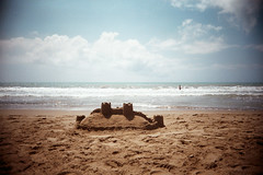 , (benedetta falugi) Tags: sea summer film beach analog fuji superia 400 22mm eximus benedettafalugi