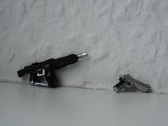 Desert Eagle + AA-12 (BluTechnology) Tags: lego deserteagle aa12 brickarms