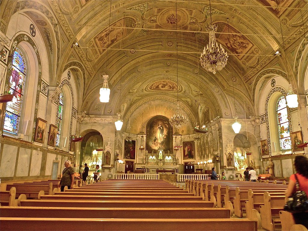 Copyright Photo: Notre-Dame-de-Bon-Secours Chapel Interior 1 by Montreal Photo Daily, on Flickr