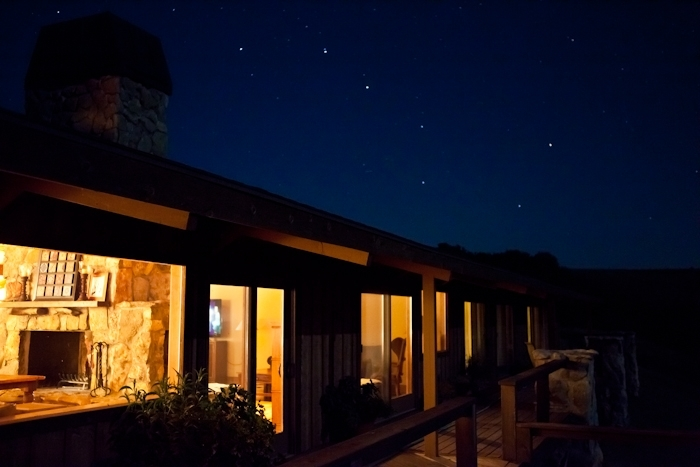 Night Sky At The Lodge