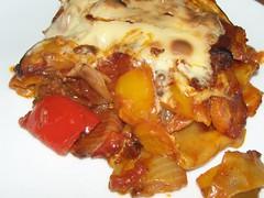 Gemüse-Lasagne ... (bayernernst) Tags: food berlin deutschland essen juli küche zucchini käse parmesan tomate lasagne gemüse kochen 2011 gemüselasagne flickrblick 26072011 sn207759