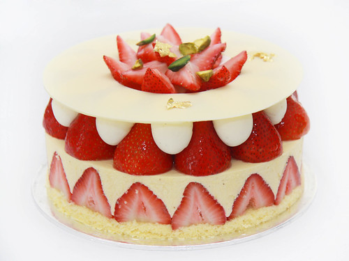 Strawberry Shortcake from Hilton Singapore