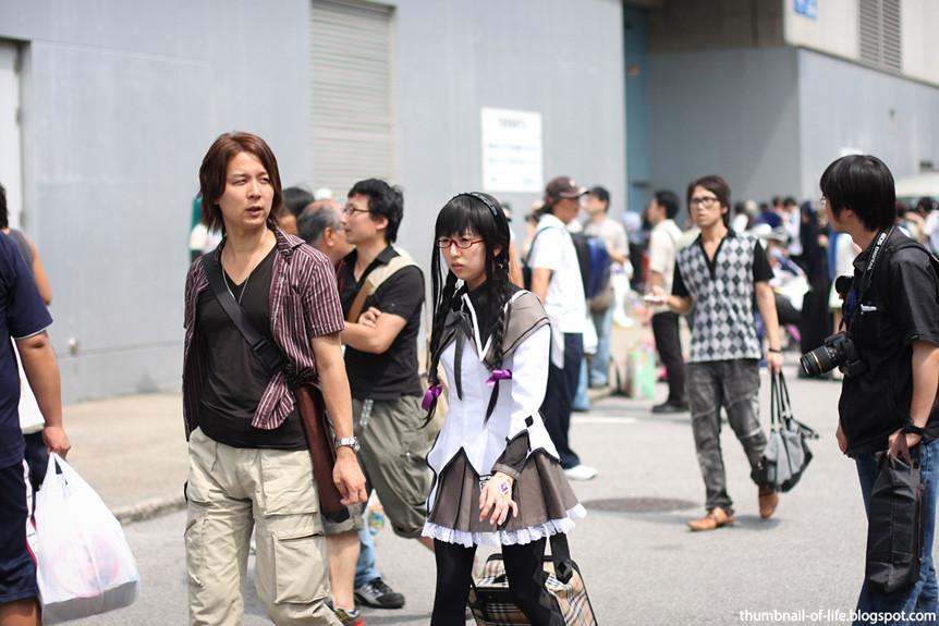 Wonfes Summer 2011 - Homura Cosplay