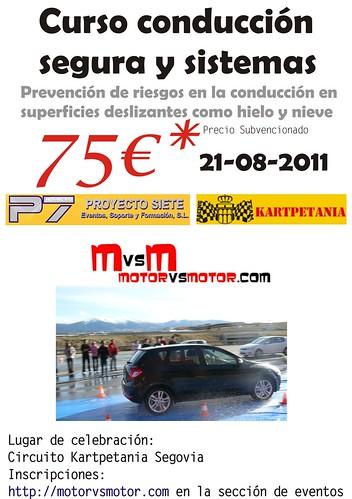 Curso Conduccion Segovia 2011