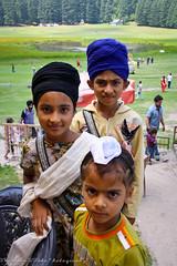 Sikh Kids in Khajjiar (viwehei) Tags: boy baby india cute girl childhood kids children kid klein child little adorable kinder kind littlegirl ethnic littleboy mdchen junge