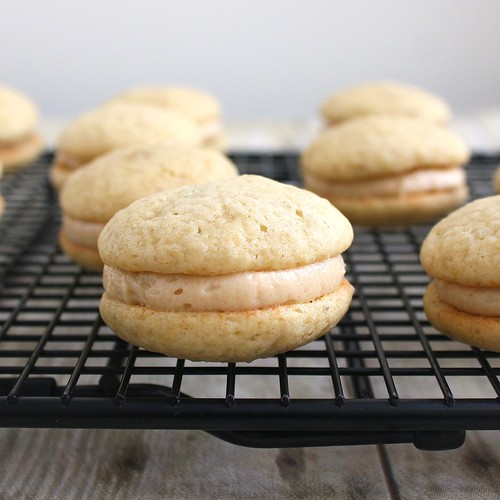 Peanut Butter and Banana Whoopie Pies | Tracey's Culinary Adventures