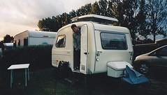 Predom 127 polish caravan 70s (Ankar60) Tags: old camping camp classic vintage sweden polish swedish 127 plastic 70s sverige caravan fiberglass 1970s svensk 126 70tal smrgsbord gammal plast hjo husvagn polsk svenskt glasfiber predom