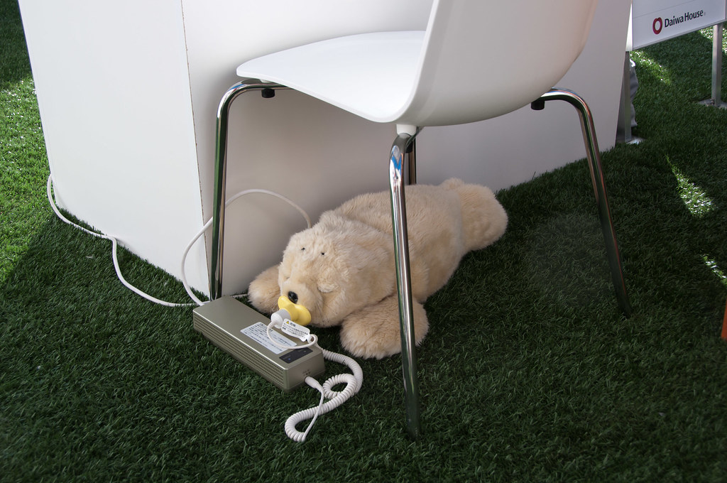 Therapeutic Robot PARO - Charging