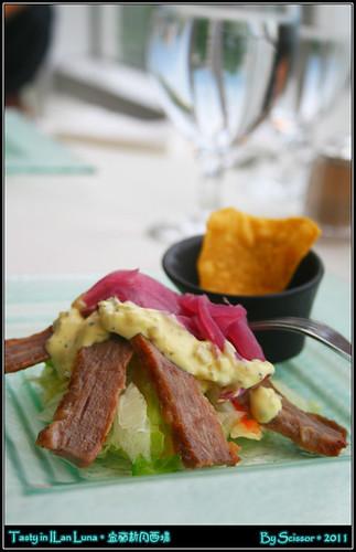 牛肉焗丹麥餅