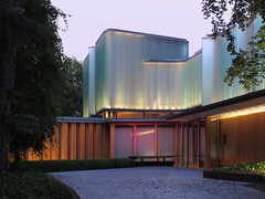 Integral House at Dusk (livinginacity) Tags: new city urban musician house toronto canada building home architecture modern buildings wow wonderful design cool waves superb contemporary unique awesome surreal wave architect wicked scifi ravine curve sublime architects residential urbanism  recent activist joyous sensuous   mathematician mathmatics   mathmatical somethingnew shimsutcliffe     a shimsutcliffearchitects torontostyle integralhouse architdose