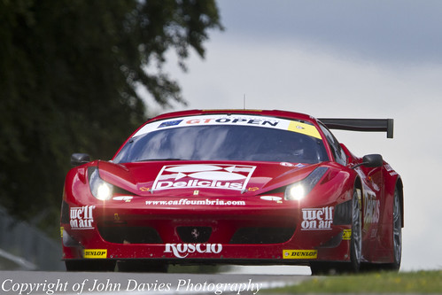 International GT Open Stefano Bizzarri Ferrari 458 GT3 P4