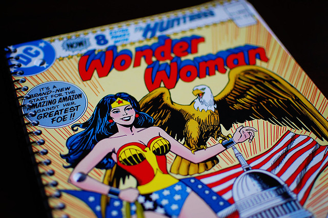 Wonder Woman notebook