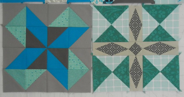 Two more Summer Sampler blocks!