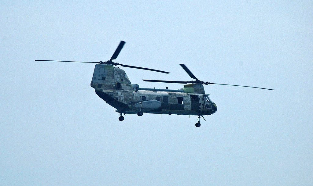 Marine Corps Patchwork CH-46E Sea Knight