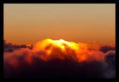 Haleakala, Maui (szeke) Tags: orange sun clouds sunrise hawaii maui haleakala 2011 canonef28135is tumblr canon7d