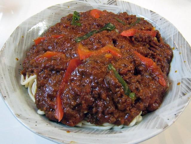 "Japanese ""Meat Spaghetti"""