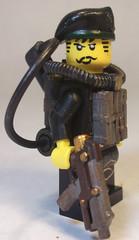 Steampunk Exterminator (CrazyBrck) Tags: lego win custom epic minifigure brickarms brickforge crazybrick