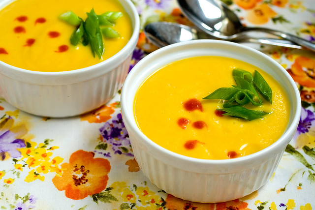 Chilled Golden Beet Soup