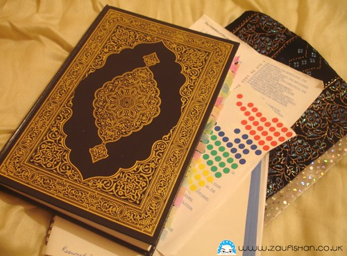 Quran Organiser & Planned Reading