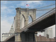 Brooklyn Bridge (STEVESD) Tags: nyc newyorkcity paisajes newyork skyline architecture brooklyn landscapes arquitectura structures bridges brooklynbridge nuevayork estructuras