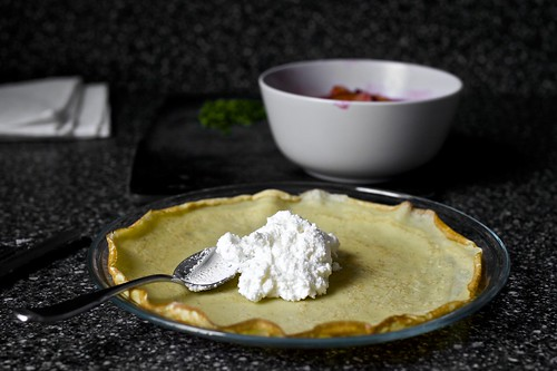 sugar plum crepes with ricotta and honey | smitten kitchen