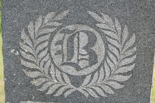 B from the tombstone of Sarah Brasfield