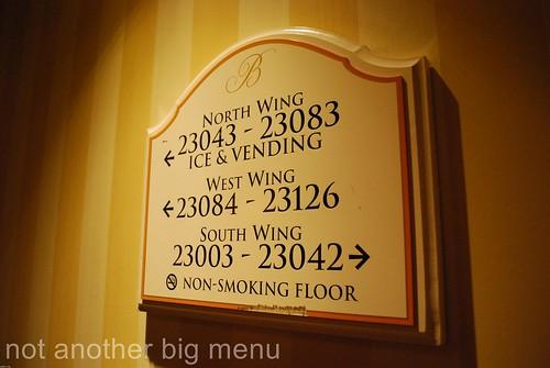 Las Vegas, Nevada - Room numbers