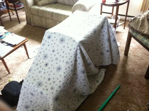 Nick's tent