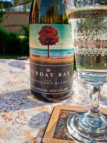1000/507: 23 July 2011: Sunday Bay Sauvignon Blanc by nmonckton