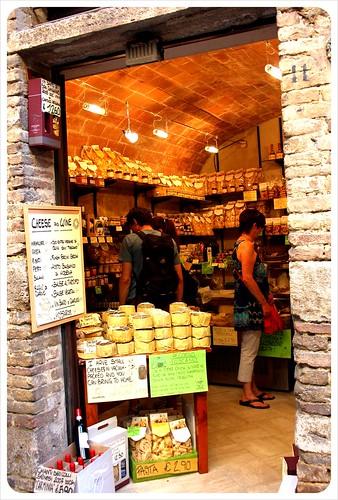 san gimignano cheese store