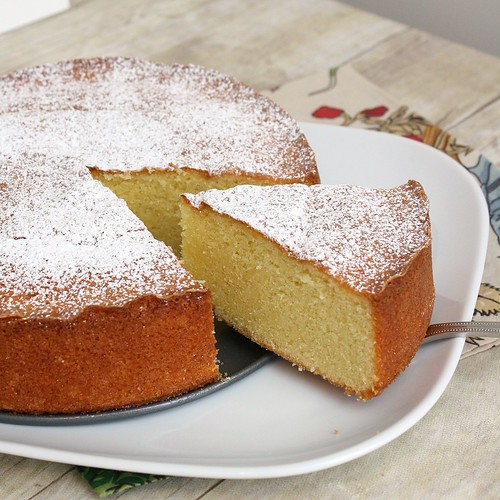 Almond Cake | Tracey's Culinary Adventures