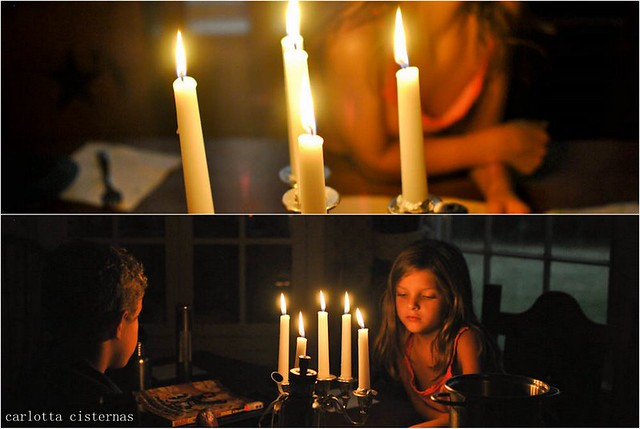 dinner by candlelight