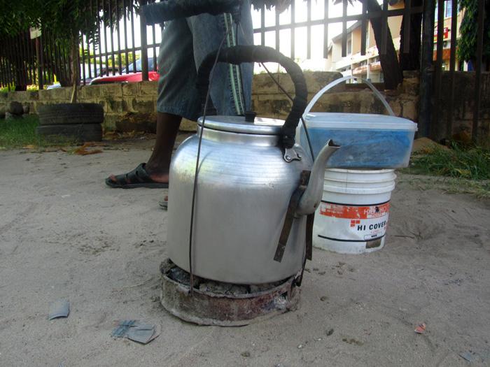 Coffee in Dar Es Salaam, Tanzania