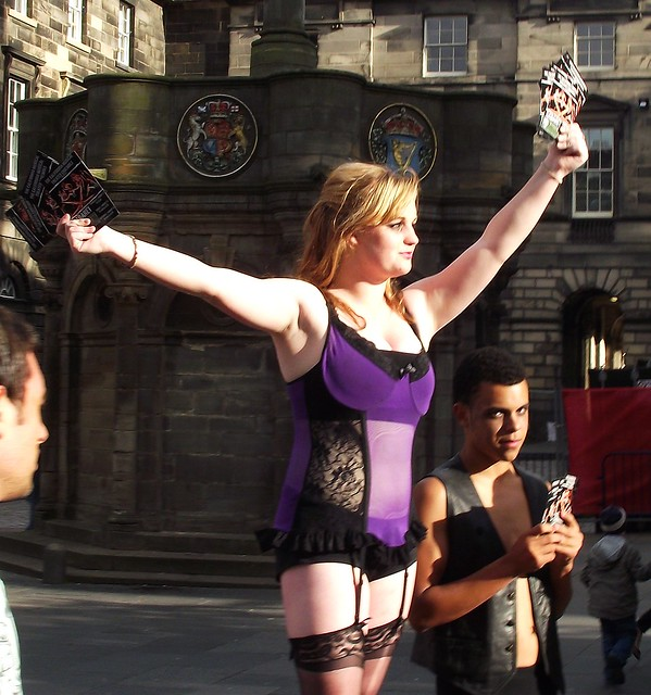 Fringe on the Royal Mile 2011 075