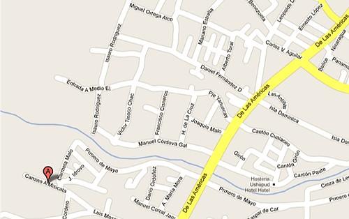 cuneca Map