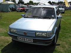 JUNE 1987 MG MAESTRO 1998cc D428CHO (Midlands Vehicle Photographer.) Tags: june day 1987 rally august mg british maestro 07 08 leyland spares bl 2011 1998cc d428cho