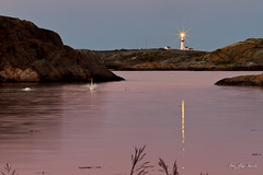 _MG_2082 (May Elin Aunli) Tags: sunset lighthouse fyr solnedgang fevik haseltangen troungen